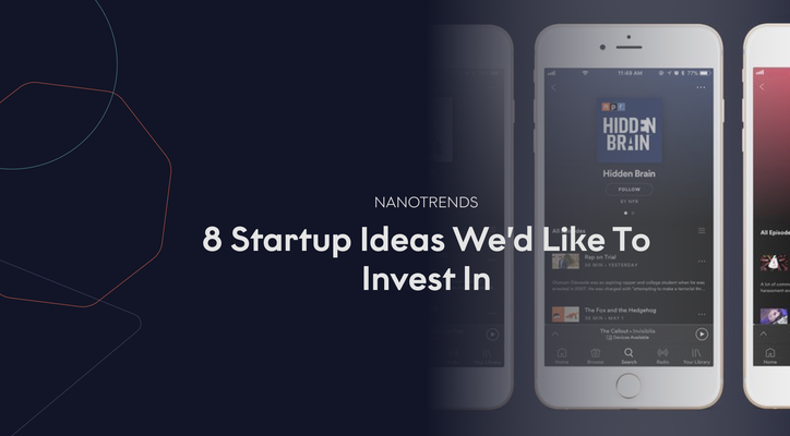 8 Startup Ideas We'd Like To Invest In